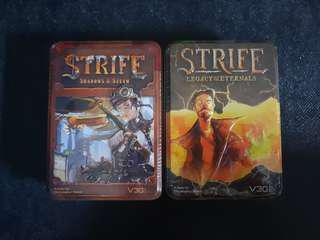Strife: Shadows & Steam and Strife: Legacy of the Eternals
