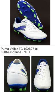 NEW Puma Velize FG Jr Soccer Cleats for Youngster