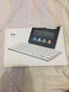 iPad Keyboard Dock with iPad Camera Connector Kit