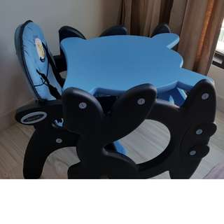 BabyOne 2-in-1 High Chair (Table+Chair)