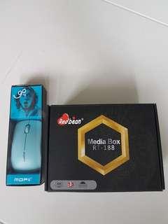 NEW Redbean Medua Box RT-188 Android Tv Box