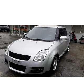 【老頭藏車 】2007 Suzuki Swift『0元就把車貸回家 』『全貸,超貸,免保人』中古 二手 汽車