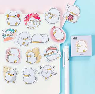 🚚 Cheerful Duckling Scrapbook / Planner Stickers #151