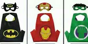Superheroes Cape and Mask