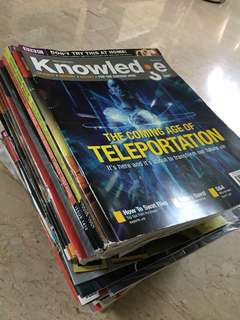 🚚 BBC Knowledge magazines & Discovery magazines