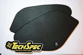 Techspec Snake Skin Tank Grips for superbike