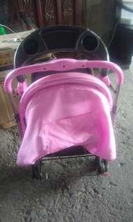 Pink Baby 1st stroller