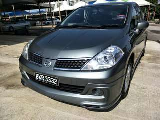 NISSAN LATIO SPORT 1.6 (A) perfect condition feee accident save petrol
