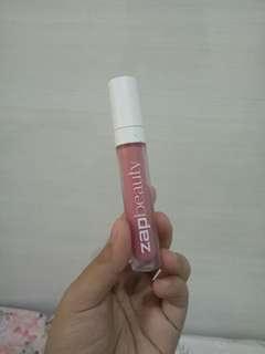 Zap beauty lip cream shade coral