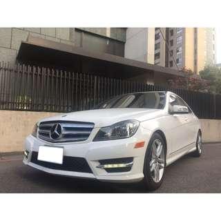 <小馬愛車>  2013 Benz C250 1.8 白