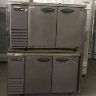 Undercounter Two Door Combination Chiller & Freezer ( Made in Japan)