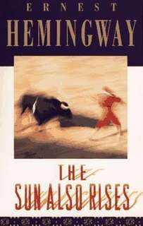 The Sun also rises Ernest Hemingway Book one to three pdf file