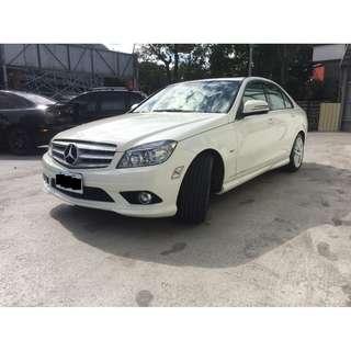 <小馬愛車>  2009 Benz C300 3.0 白