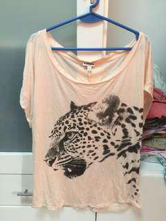 EXPRESS printed top