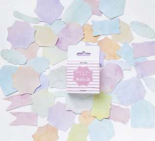 🚚 Pastel Utility Scrapbook / Planner Stickers #152