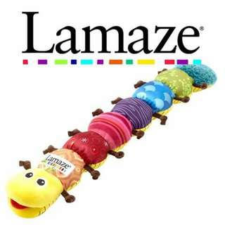 Lamaze Musical Inchworm - YELLOW