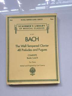 Bach, The Well-Tempered Clavier