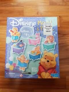 pooh bear make your own fridge magnets set