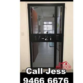 HDDoor the gate and digital lock with install