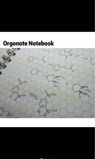 Orgonotebook / Chemistry notebook