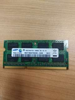 8GB(2x4GB) Laptop Ram DDR3