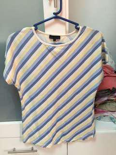 MALDITA striped top