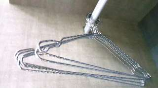 Stainless Steel Strong Good Quality Hangers 65 pcs.