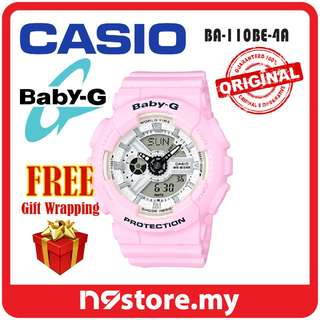 CASIO BABY-G BA-110BE-4A ANALOG DIGITAL LADIES SPORTS WATCH