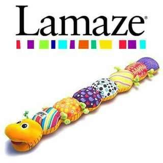 Lamaze Musical Inchworm - ORANGE