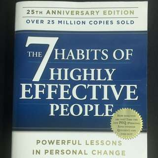 7 Habits of Highly Effective People 25th Edition