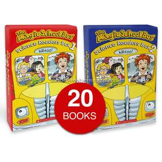 THE MAGIC SCHOOL BUS SCIENCE READERS COLLECTION (20 BOOKS)