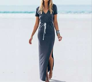 Fork Long Dress