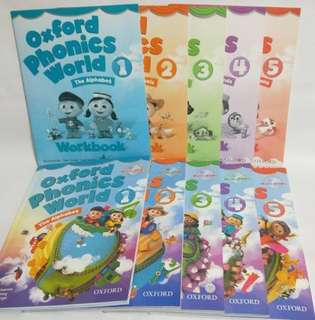 🚚 Oxford phonics world