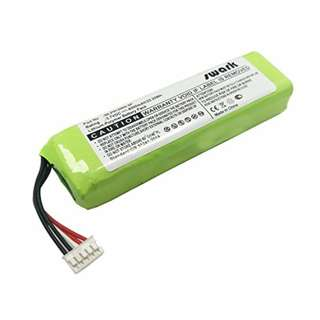 Swark 6000mAh Li-Polymer Replacement Battery For JBL Charge 2+, Charge 2 Plus, Charge 2, fits JBL MLP912995-2P 3.7V