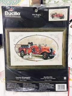 🚚 BUCILLA FIRE ENGINE