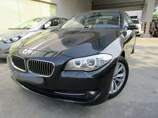 F10 BMW 520 for rent