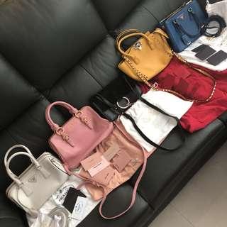 🈹✨可買可交換✨ Prada Chloe miumiu Valentino 手袋 包包 🈹