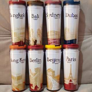 Tumbler Starbucks Original City Series 100% NEW Limited Paling Dicari
