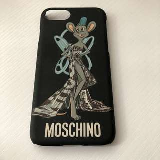 MOSCHINO iPhone 8 Case 100% Real