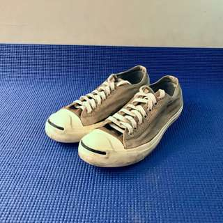Converse Jack Purcell Light Gray kondisi 90% Size 42 / US 9
