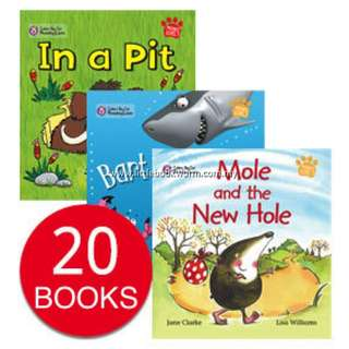 BIG CAT PHONICS COLLECTION (20 BOOKS)