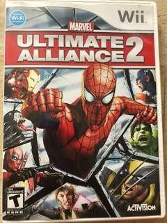 "Wii ""Utimate Alliance 2"""