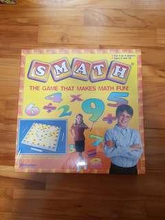 scrabble but for math