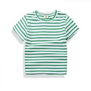 Toddlers Comfy Striped Short sleeve Tee