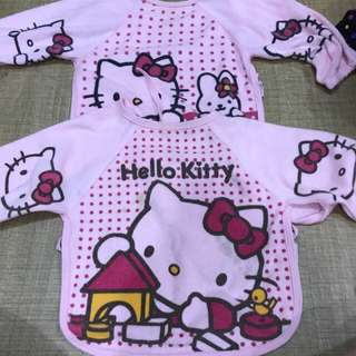 Hello kitty baby apron