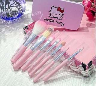 Hello Kitty Makeup Brush Set