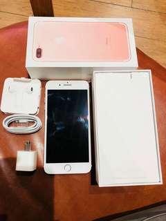 iPhone7plus 128gb Rosegold