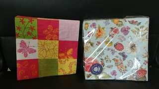 DIY紙巾併貼