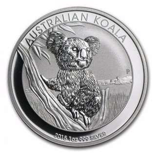 Australian Silver Koala 2015 - 1 oz silver coin