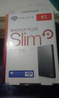 REPRICED Seagate 1TB backup plus slim